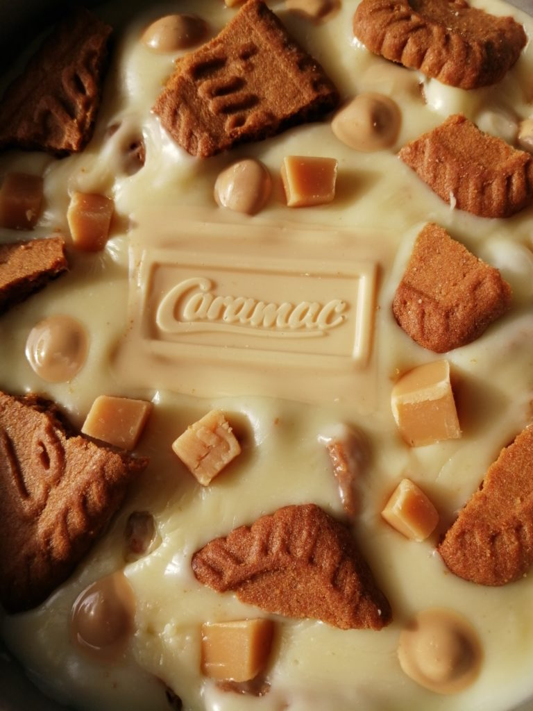 Caramac fudge